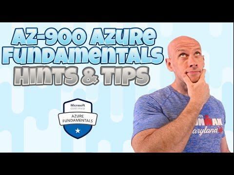 AZ-900 Azure Fundamentals Hints and Tips - YouTube