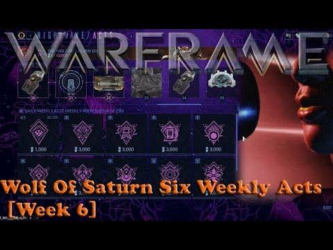 Warframe - Wolf Of Saturn Six Weekly Acts [Week 6]