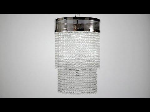 Video for Harrison Aged Brass Four-Light Flush Mount