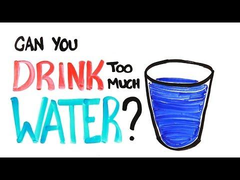 Můžete vypít příliš mnoho vody?