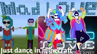 Just Dance 2019 Mad Love In Minecraft!