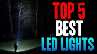 TOP 5 BEST LED LIGHTS!! (18v/20v Non-Hybrid)