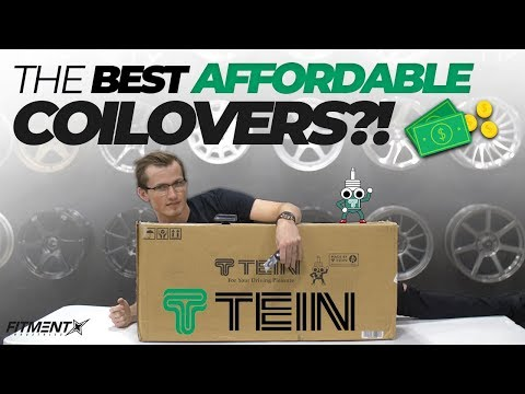 Are Affordable Coilovers Worth It? | Tein Flex Z Unboxing