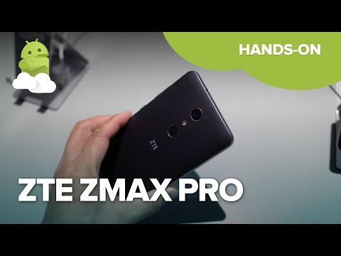 ZTE ZMAX PRO hands-on