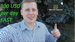 How to make 100 USD per day easy Bepic back office