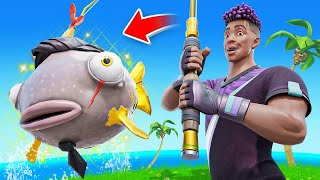 Finding the *RAREST* FISH in Fortnite! (Midas + Vendetta)