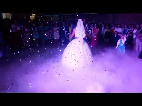 Спецефекти на  перший весільний танець, відео 4