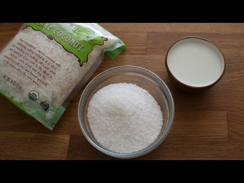 How to Make Coconut Flour & Milk | sweetco0kiepie