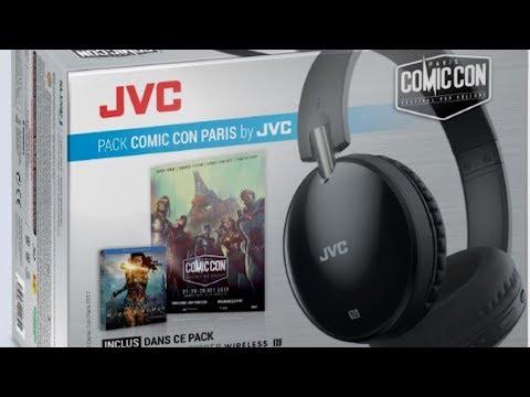Unboxing Pack JVC Spécial Comic Con !
