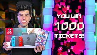 I Won A Nintendo Switch at the Arcade!!