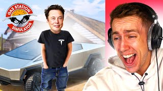 ELON MUSK IS IN THE GAME? (Gas Station Simulator)