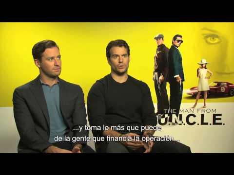 EL AGENTE DE C.I.P.O.L - Entrevista Henry Cavill y Armie Hammer - Oficial Warner Bros. Pictures