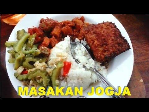Video Makanan Khas Jogja (Jogja Food)