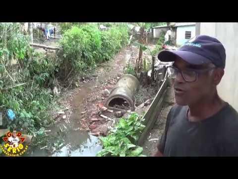 Esgoto a céu aberto tira o sossego dos Moradores da Favela do Justinos