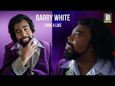 Barry White Look a Like boek je exclusief bij JB Productions