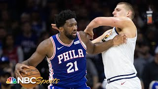 Joel Embiid vs. Nikola Jokic; LaMarcus Aldridge retires; who leads East? | PBT Extra | NBC Sports