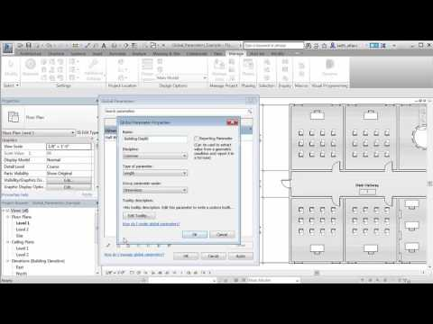 Revit 2017 – Global Parameter Enhancements