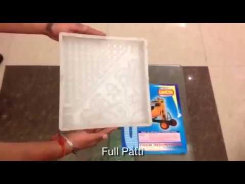 Plastic Mold for Paver Blocks