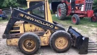 new holland l779 skid steer loader illustrated parts list manual