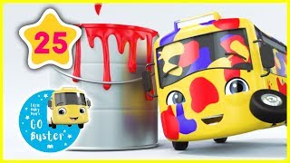 Learn Colors - COLORS RAP!! | GoBuster Official | Nursery Rhymes |  ABCs and 123s | #LeranColors
