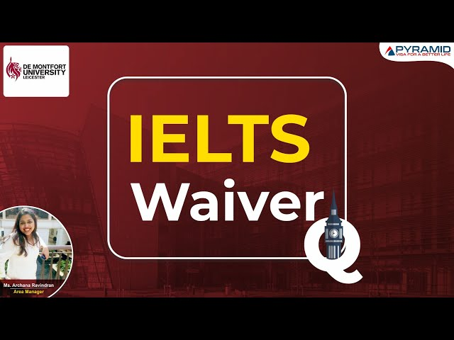 Can students apply to study at De Montfort University without IELTS? How much is the GAP acceptable?
