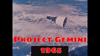 NASA PROJECT GEMINI   1965 GEMINI IV, V & VI MISSIONS  ED WHITE SPACEWALK  (SILENT FOOTAGE)   99024a