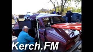 В Керчи в аварии пострадали 11 человек