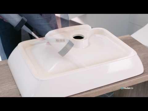 Montage Aufsatzwaschtisch Villeroy & Boch
