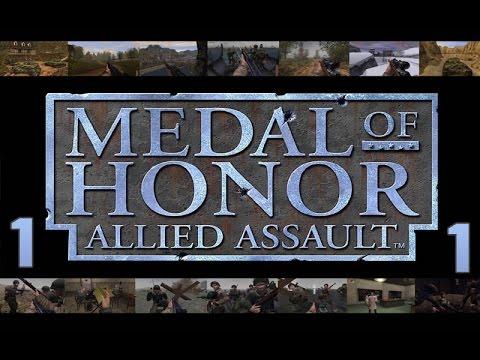 Прохождение Medal of Honor: Allied Assault #1