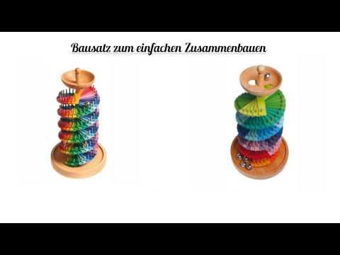Grimms Holzspielwaren Kugelbahn Bausatz