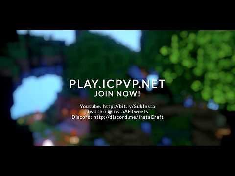 InstaCraft KitPVP Minecraft Server