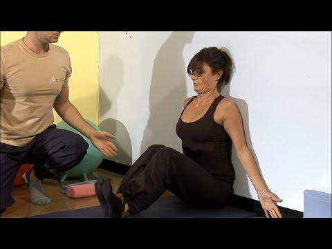 Reparto di petto di cambiamento di vertebra