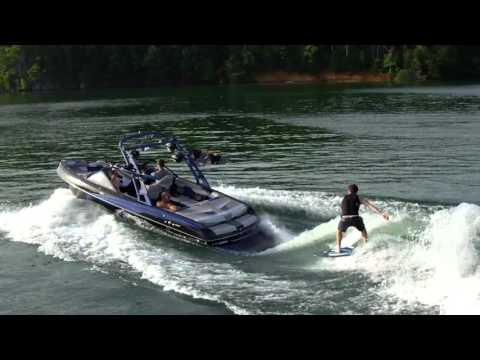 Malibu 22 VLX Surf Review Waterski