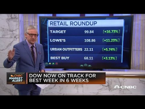 Stocks rise on heels of strong retail earnings