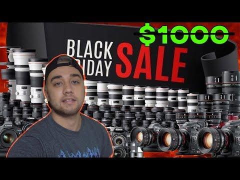 Best 2017 Black Friday Camera Deals! (Amazon) Canon/Sony/Panasonic