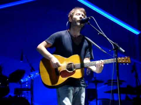"Thom Yorke ""All For The Best"" Live"