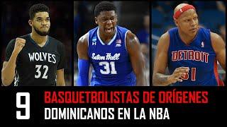 Basquetbolistas Dominicanos en la NBA