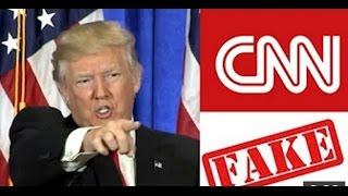 """트럼프, """"CNN 당신들은 찌라시야!"""""""