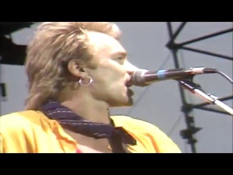 The Police - Message in a bottle (live in Gateshead '82)