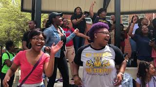 "Jackson State University Sings Kurt Carr's ""In the Sanctuary"""