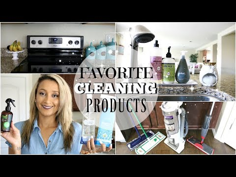MY FAVORITE CLEANING PRODUCTS 2017