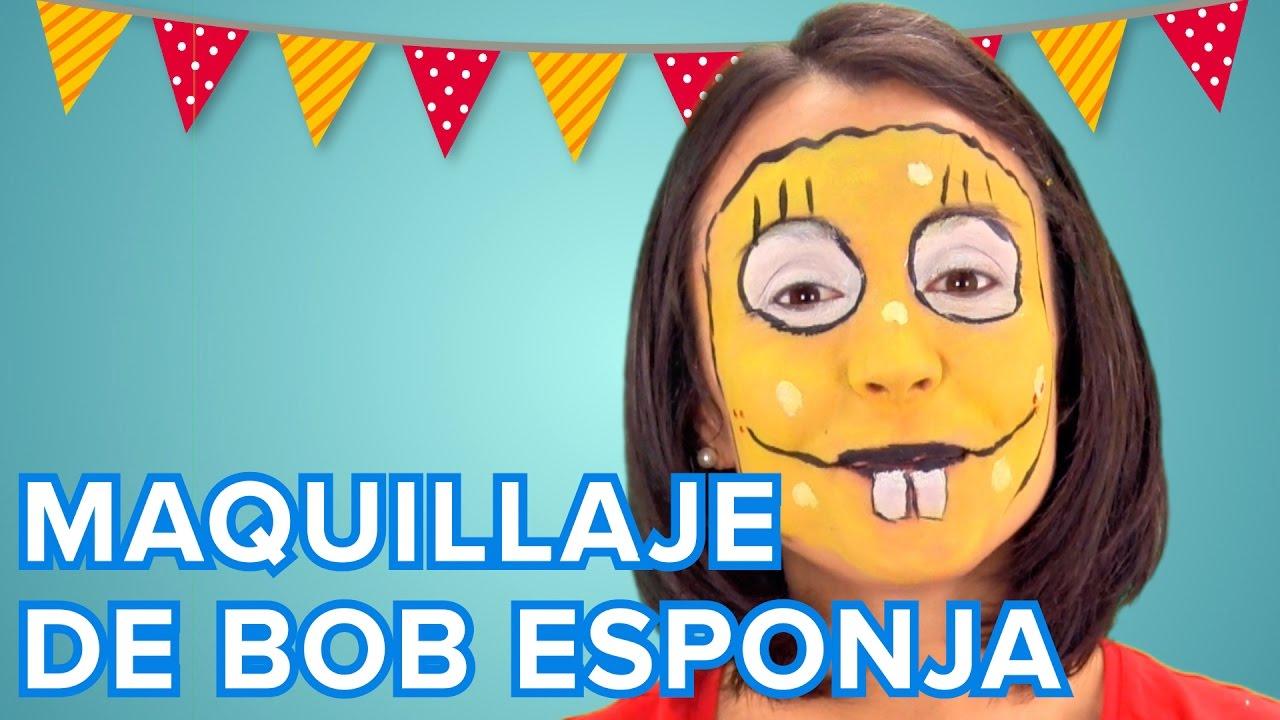 Maquillaje de Bob Esponja | Tutorial paso a paso