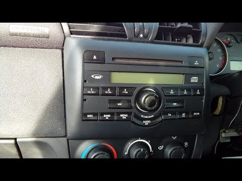 Fiat Stilo 2001 to 2010 how to remove factory radio & includes part numbers for aftermarket upgrade