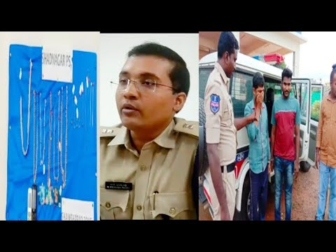 #ShadNagar Police Na Doo Shatir Chor Kiya Giraftar. Deer Raat Gai Bikes Aur  Gharaoon Mai Chori Kar