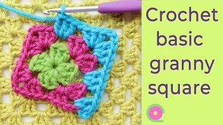 Vintage Crochet: The Basic Granny Square. Granny Square Tutorial For Beginners