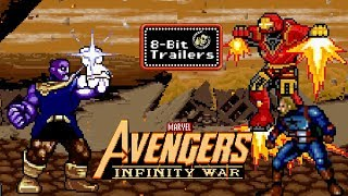 AVENGERS: INFINITY WAR - 8-Bit Trailers (2018) Marvel Superhero Film SUBSCRIBE for more JoBlo Original Videos HERE: https://goo.gl/R9U81J DESCRIPTION Check out our most popular series PLAYLISTS:...
