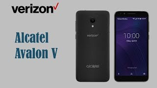 Alcatel Avalon V Verizon Wireless Specs & Price