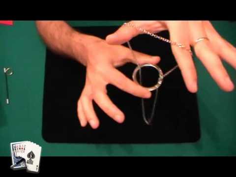Truco de magia: Aro y cadena