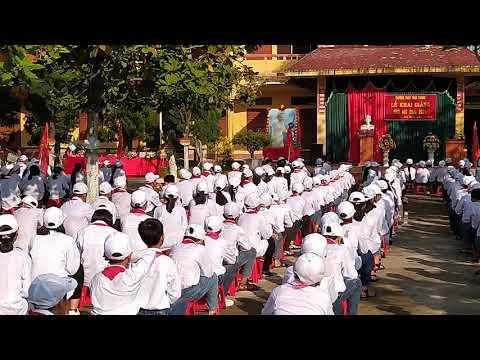 Lễ khai giảng năm học 2020-2021 - Trường THCS Ninh Phong