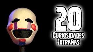 TOP 20: Las 20 Curiosidades De Puppet De Five Nights AT Freddy's   Fnaf   Fnaf